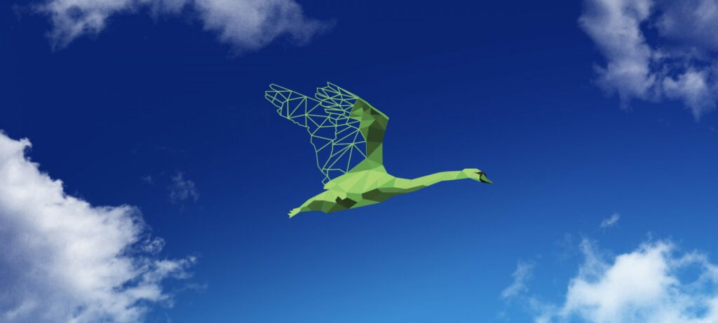 Green Swans Observatory logo